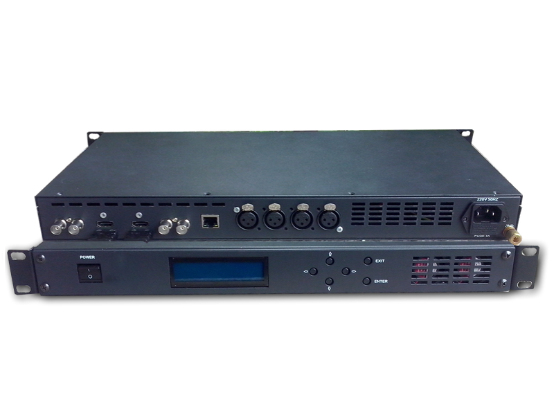 Dual channel Encoder/Transcoder model M25